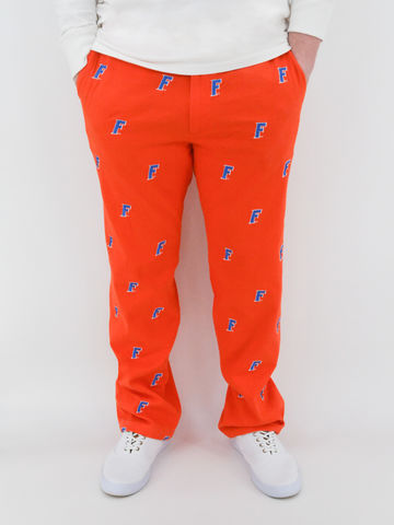 Florida,Gators,'Forward,F',Stadium,Pants,-,Orange,Florida Gators 'Gatorhead' Stadium Pants