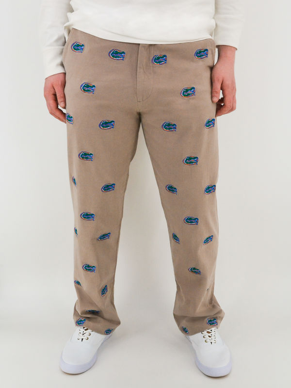 Florida Gators 'Gatorhead' Stadium Pants - Khaki - product image