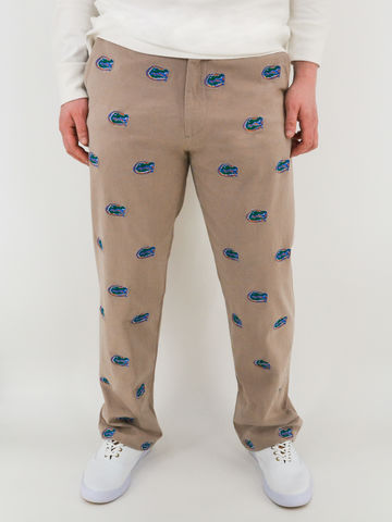 Florida,Gators,'Gatorhead',Stadium,Pants,-,Khaki,Florida Gators 'Gatorhead' Stadium Pants