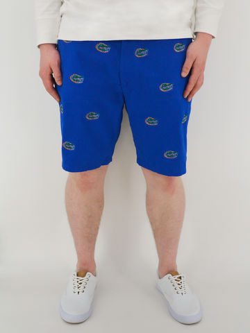 Florida,Gators,'Gatorhead',Stadium,Shorts,-,Blue,Florida Gators Stadium Shorts