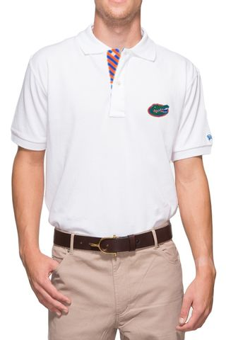 Florida,White,Polo,Florida White Polo