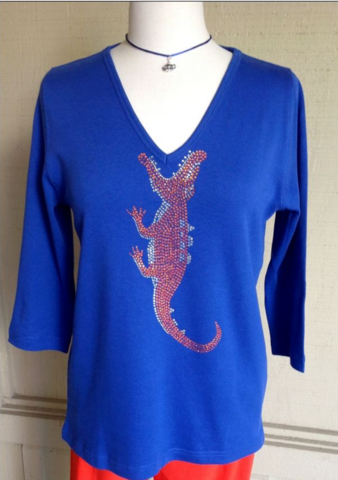 Blue,Victory,Gator,Top,Blue Victory Gator Top
