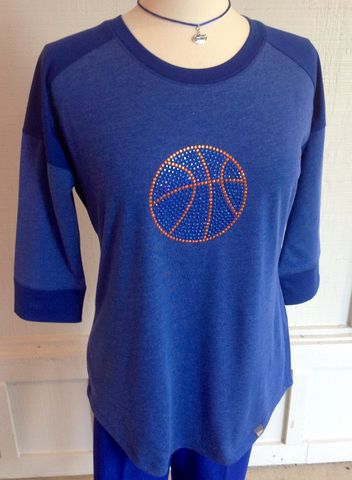Gator,Basketball,Dark,Blue,Top,Gator Basketball Dark Blue Top