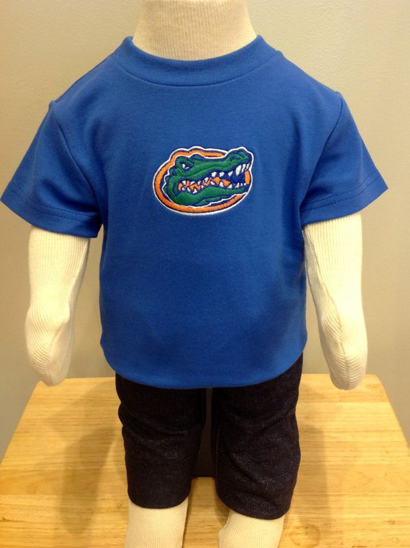 Blue Baby Gator Top - product image