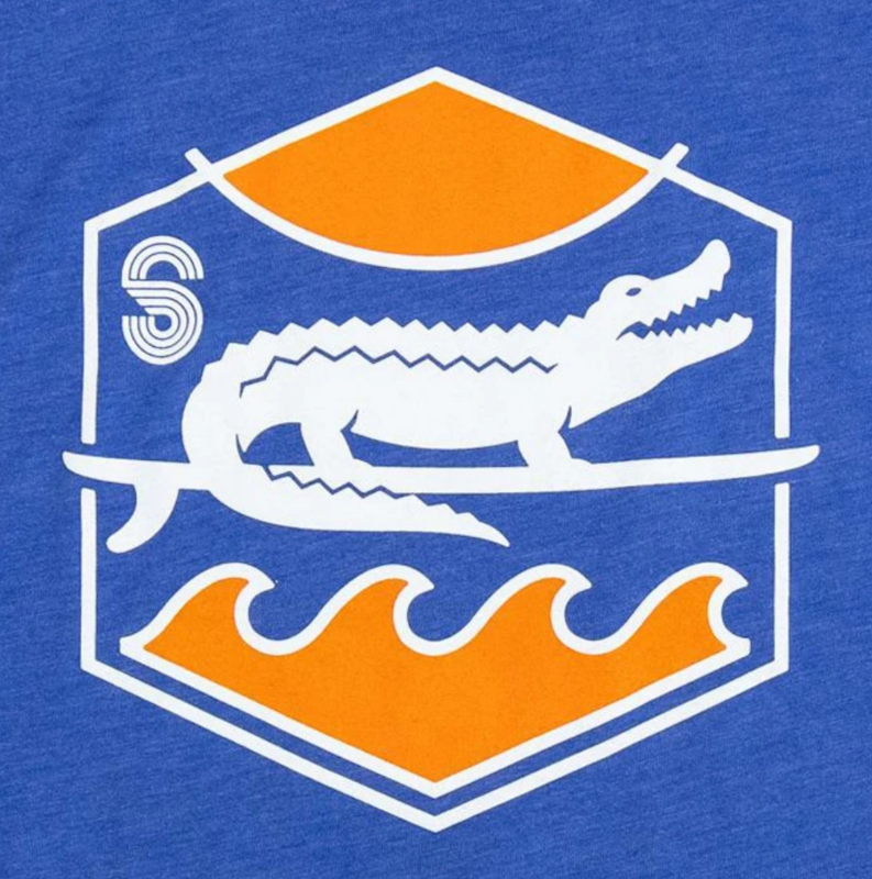 Surf Gator Sunset Tee - product images  of