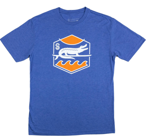 Surf,Gator,Sunset,Tee,Surf Gator Sunset Tee