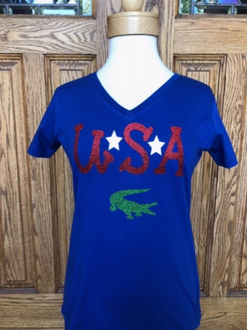 Gators,USA,Short,Sleeve,Top,Gators USA Short Sleeve Top