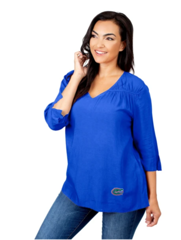 Florida,Gators,Flutter,Sleeve,Top,Florida Gators Flutter Sleeve Top