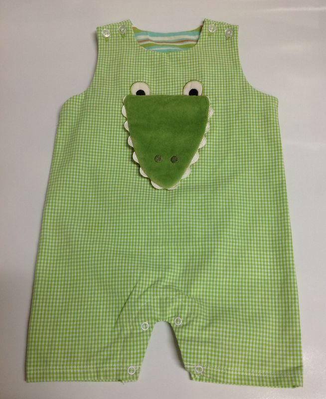 Gary the Gator Sunsuit - product image