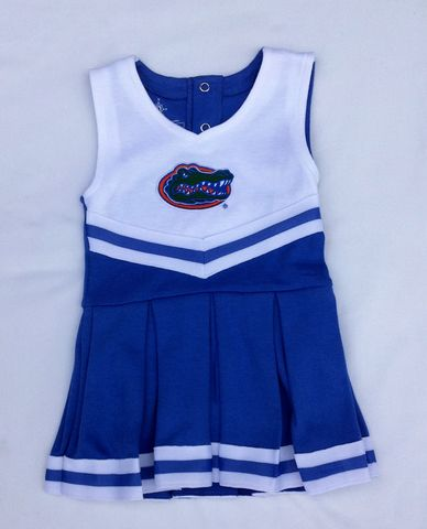 Blue-White-Logo,Cheerleader,Dress,Laurie Kids Leggings
