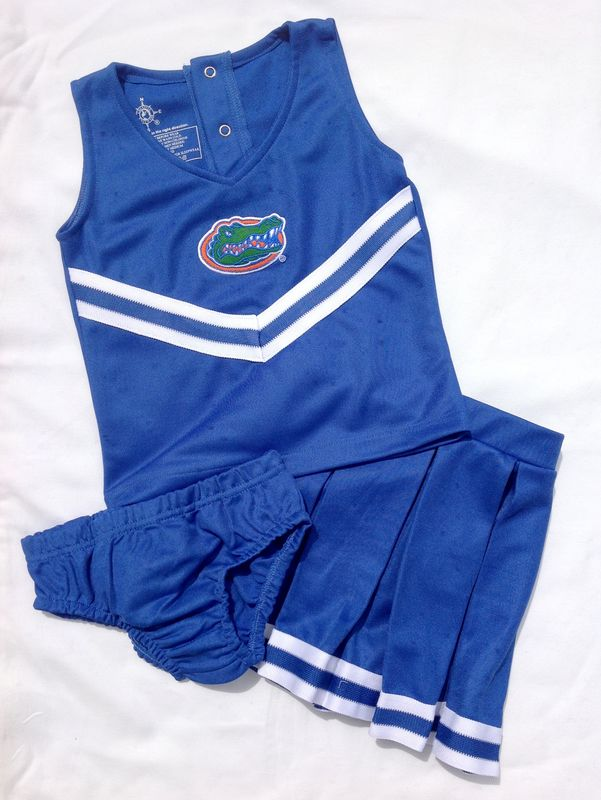 3-Piece Blue Cheerleader Set - product image