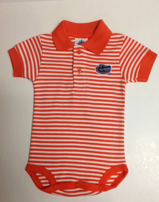 Striped Polo Bodysuit - product image