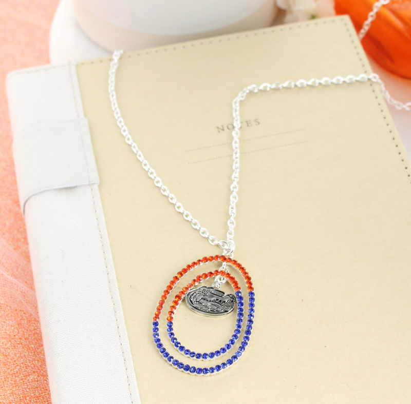 "34"" Florida Crystal Loop Necklace - product image"