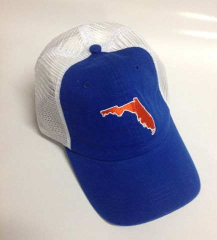 Florida,Gainesville,Gameday,Trucker,Hat,Blue,Florida Gainesville Gameday Trucker Hat Blue