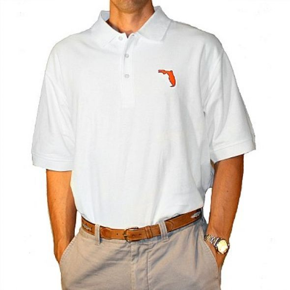 Gainesville Gameday Polo White - product image