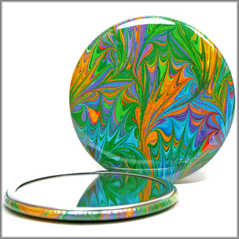 marbled,paper,mirror,no.,14,pocket_mirror,glass_mirror,marbled_paper,purse_mirror,hand_pressed_mirror