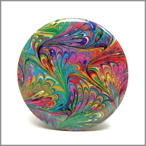 marbled paper mirror no. 1 - product images  of