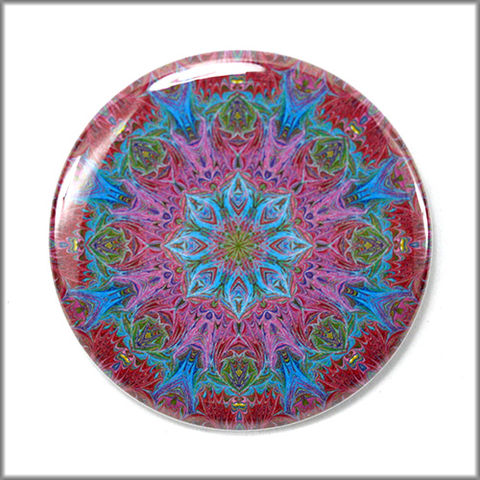 mandala,magnet,no.,2,refrigerator_magnet,office_decor,functional_art,kaleidoscope,lacy