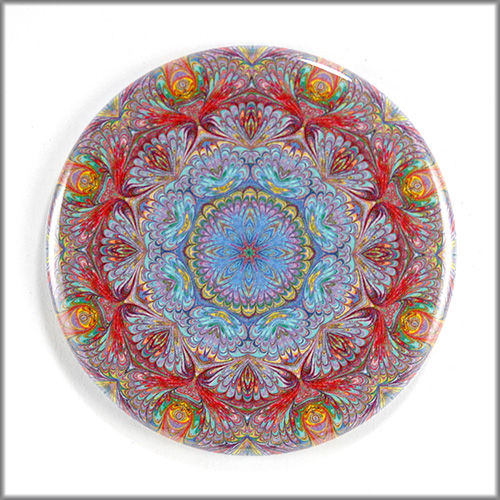 mandala magnet no. 3 - product images  of
