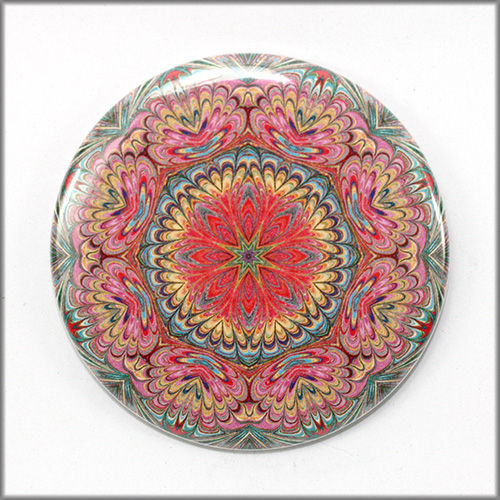 mandala magnet no. 7 - product images  of