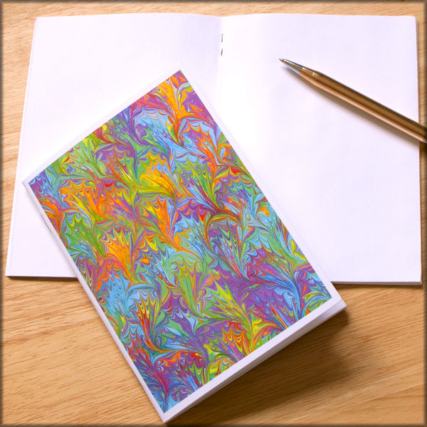 marbled paper notebook no. 1 - product images  of