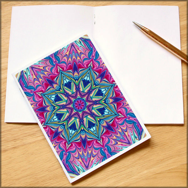 marbled kaleidoscope notebook no. 1 - product images  of