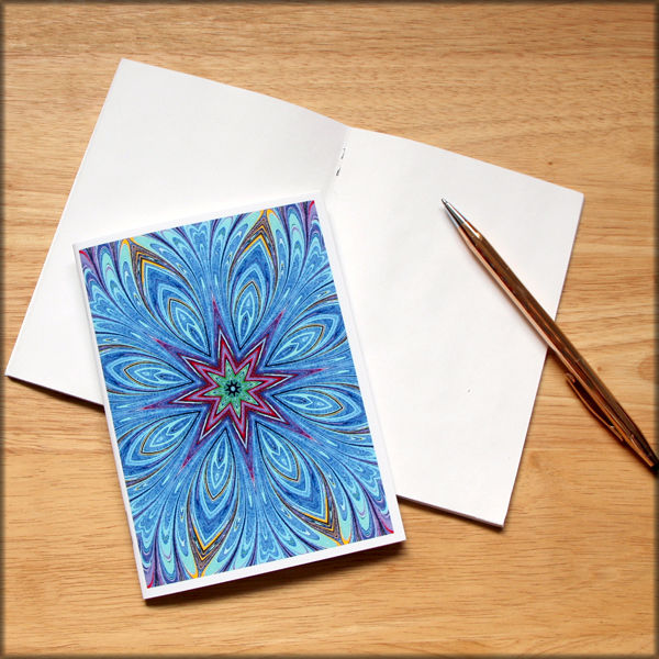 marbled kaleidoscope notebook no. 2 - product images  of