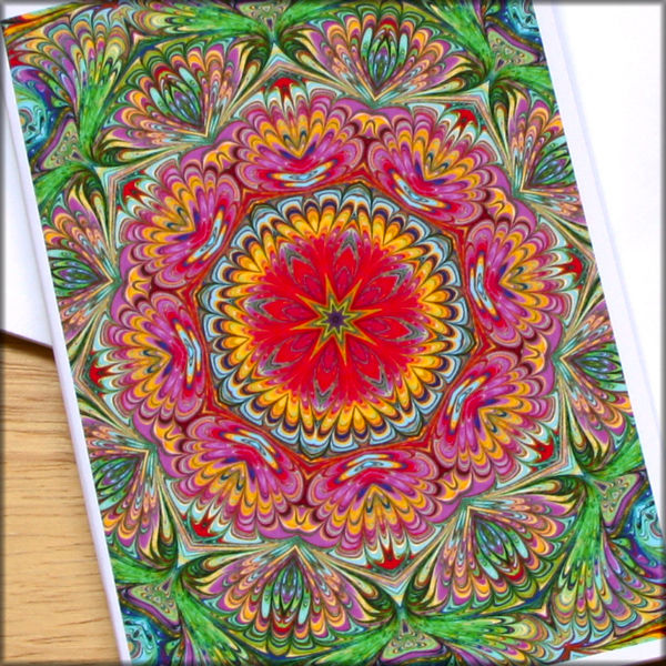 marbled kaleidoscope notebook no. 6 - product images  of