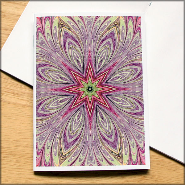 marbled kaleidoscope notebook no. 7 - product images  of