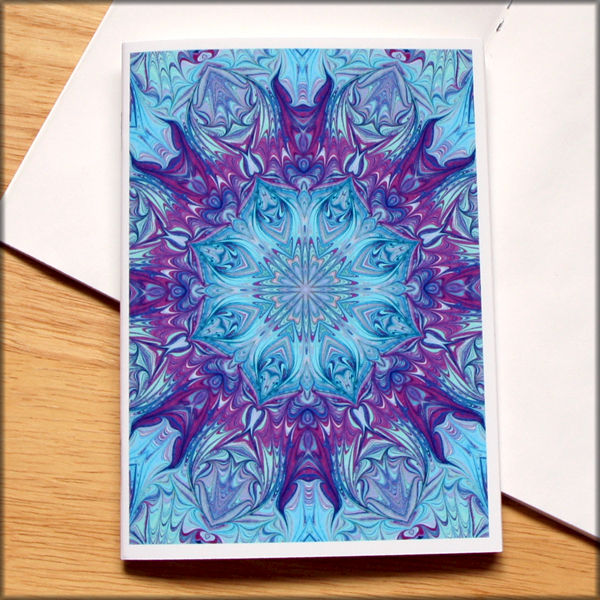marbled kaleidoscope notebook no. 8 - product images  of