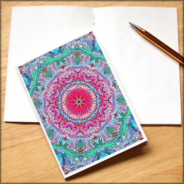 marbled kaleidoscope notebook no. 9 - product images  of