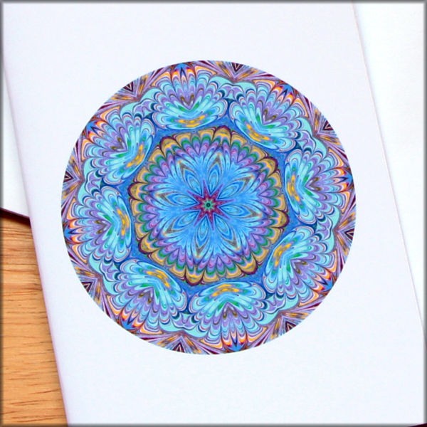 marbled mandala notebook no. 2 - product images  of