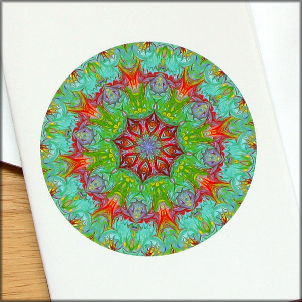 marbled mandala notebook no. 3 - product images  of