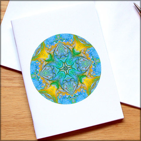 marbled,mandala,notebook,no.,4,small notebook,mini journal,marbled paper,eco friendly