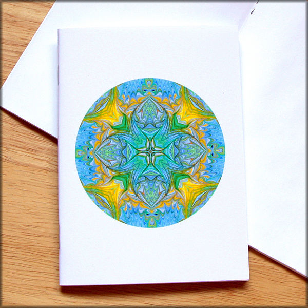 marbled mandala notebook no. 4 - product images  of