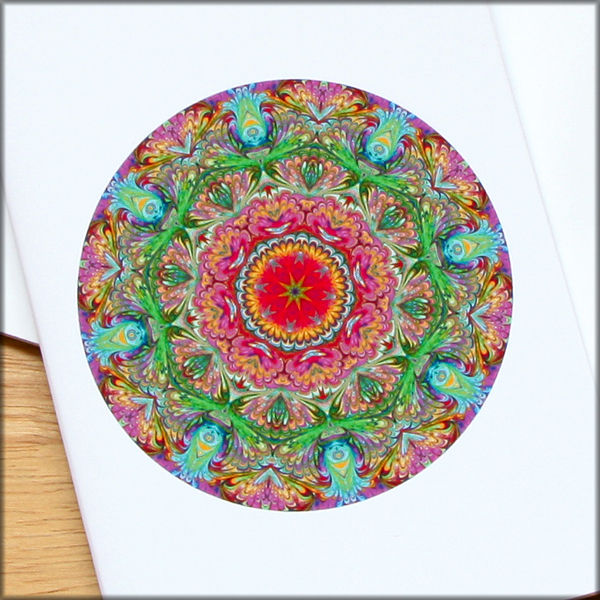 marbled mandala notebook no. 6 - product images  of