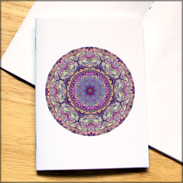 marbled mandala notebook no. 7 - product images  of