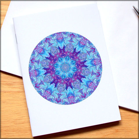 marbled,mandala,notebook,no.,8,small notebook,mini journal,marbled paper,eco friendly