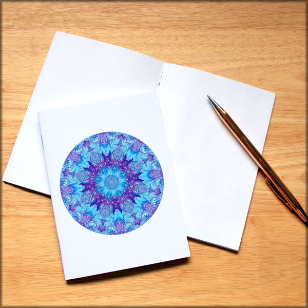 marbled mandala notebook no. 8 - product images  of