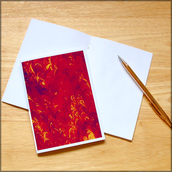 marbled paper notebook no. 20 - product images  of