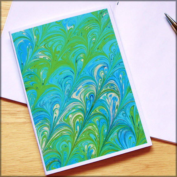 marbled paper notebook no. 19 - product images  of