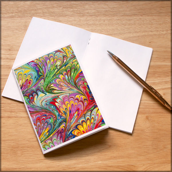 marbled paper notebook no. 2 - product images  of