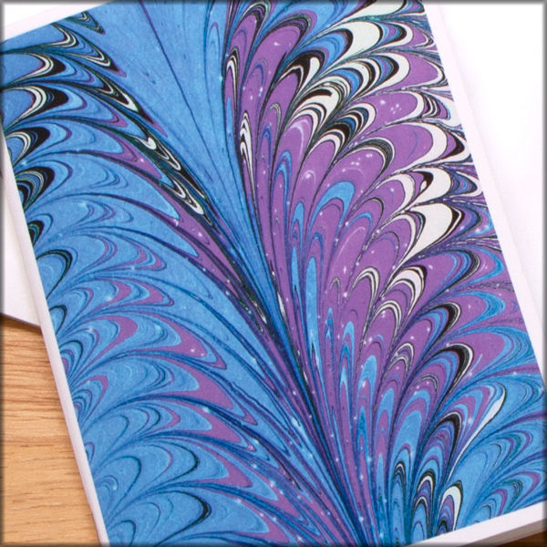 marbled paper notebook no. 18 - product images  of