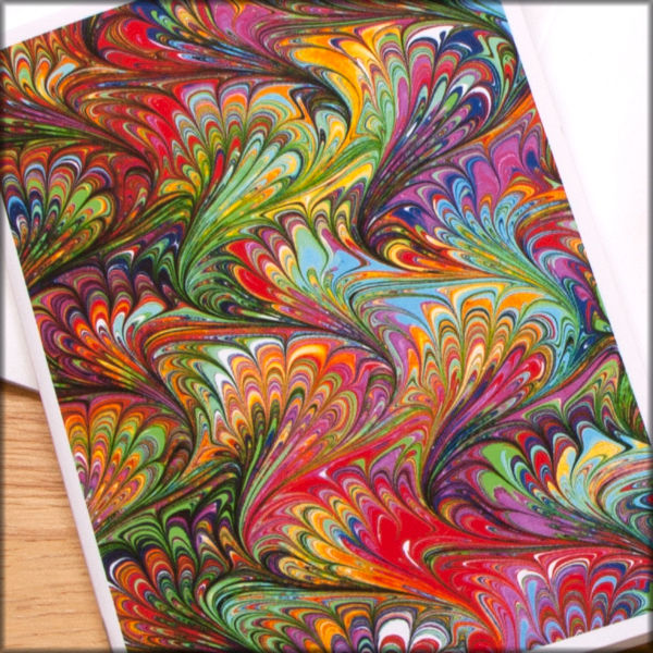 marbled paper notebook no. 17 - product images  of