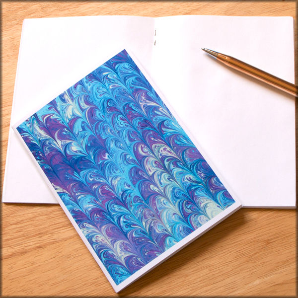 marbled paper notebook no. 16 - product images  of