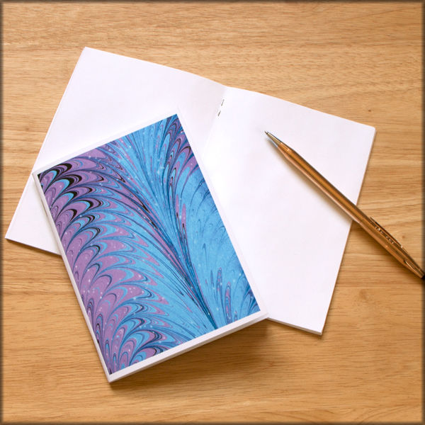 marbled paper notebook no. 5 - product images  of