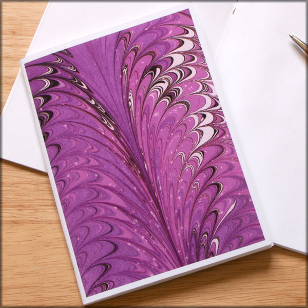 marbled paper notebook no. 14 - product images  of