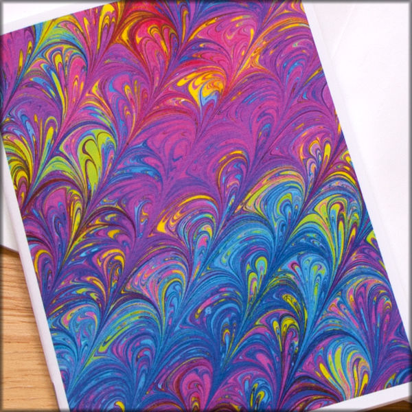 marbled paper notebook no. 12 - product images  of
