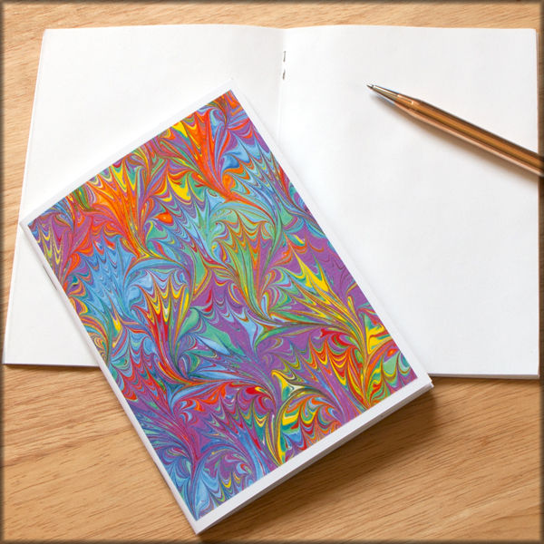 marbled paper notebook no. 11 - product images  of