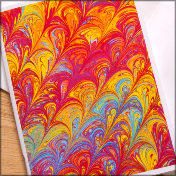 marbled paper notebook no. 9 - product images  of